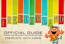 Amusement park Freedomland Guide 1960s