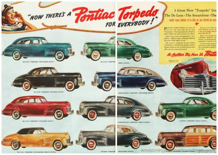 1940 Car Pontiac Torpedo