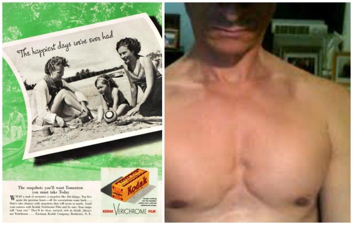 camera kodak weiner chest