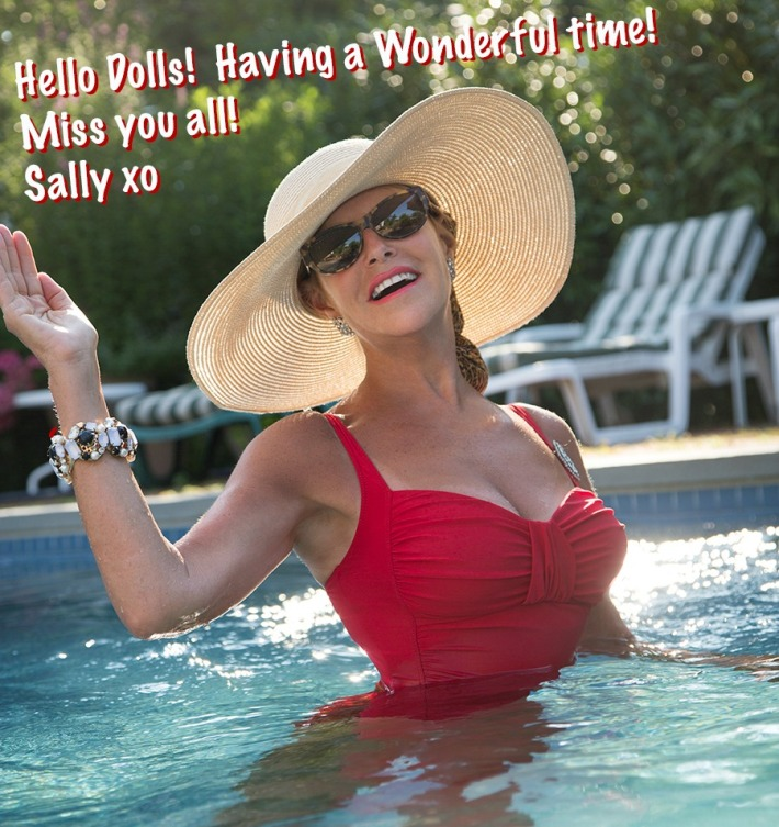 Sally Edelstein Pool Summer vacation
