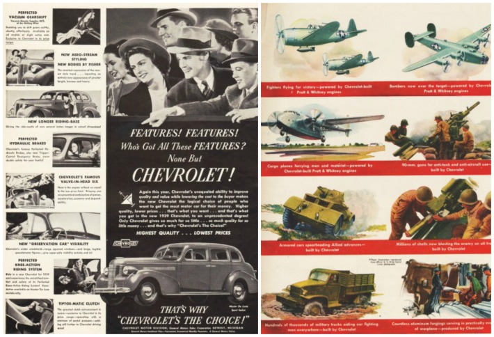 WWII Chevrolet ad