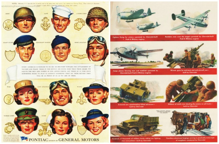 WWII Pontiac Chevrolet production