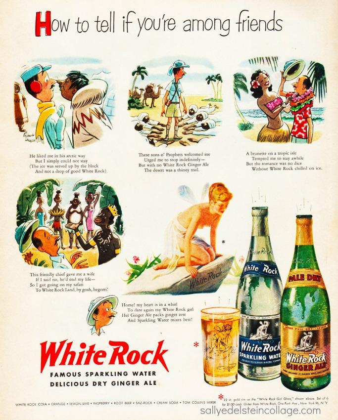 White rock girl