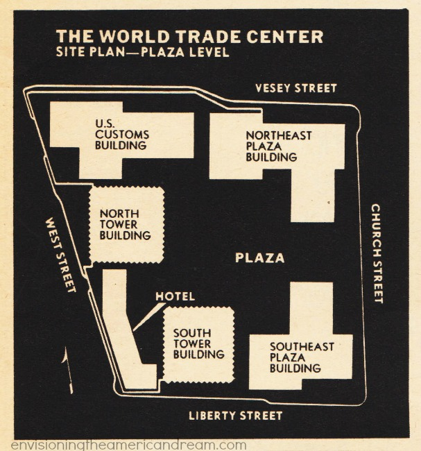 World trade Center Site Plan