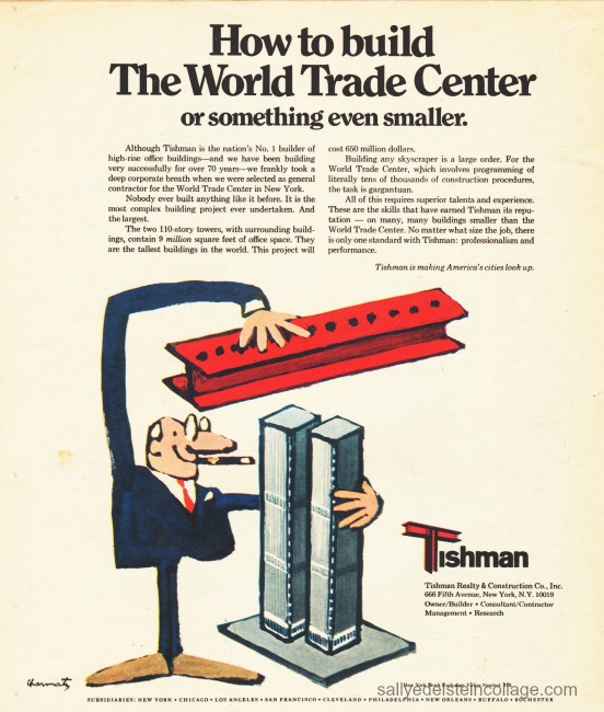 World trade center Tishman ad