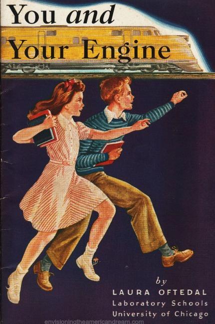 Vintage nutrional booklet 1940s