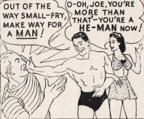 cartoon Charles Atlas Ad 1947