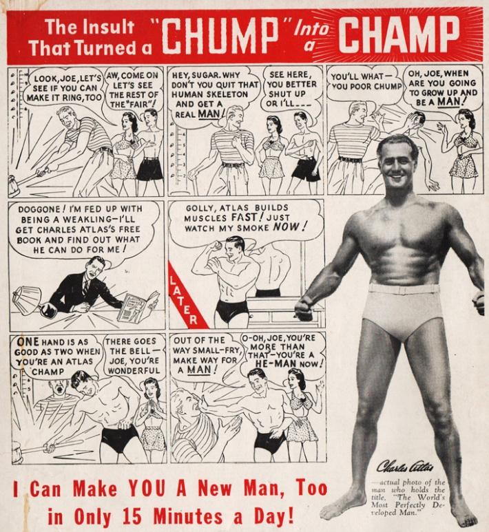 Charles Atlas Ad  1947