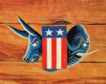 democrat & republican symbols