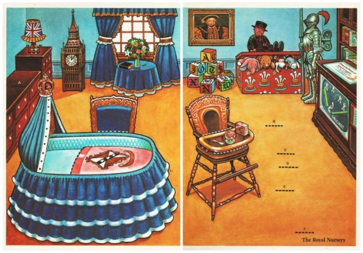 illustration Prince William Royal Nursery
