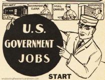 US Govrnment Ad Vintage