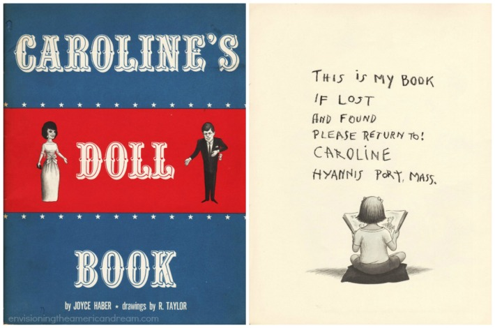 kennedy Carolines Doll Book cartoons