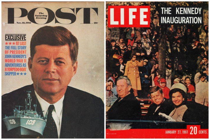 Vintage JFK Magazine Covers