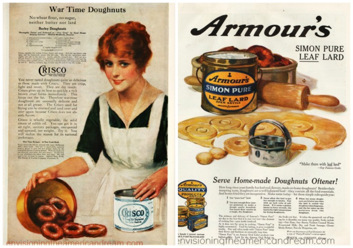 Vintage ads Crisco and Lard