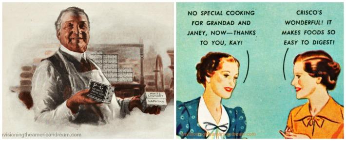 vintage ads P&G Soap Crisco