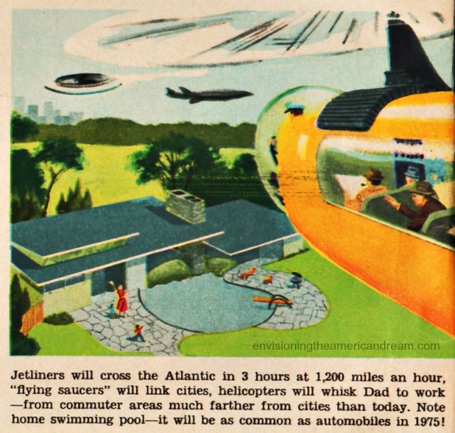 vintage illustrations future technology