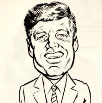 John Kennedy Cartoon