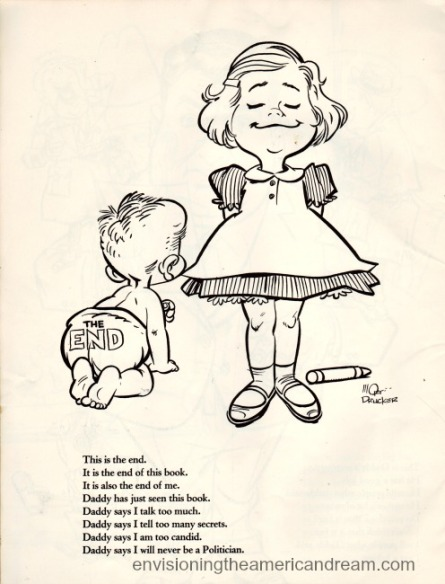 Vintage Cartoon Carline Kennedy