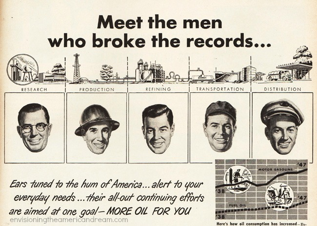 Vintage ad 1948 Oil Industry Information Committee