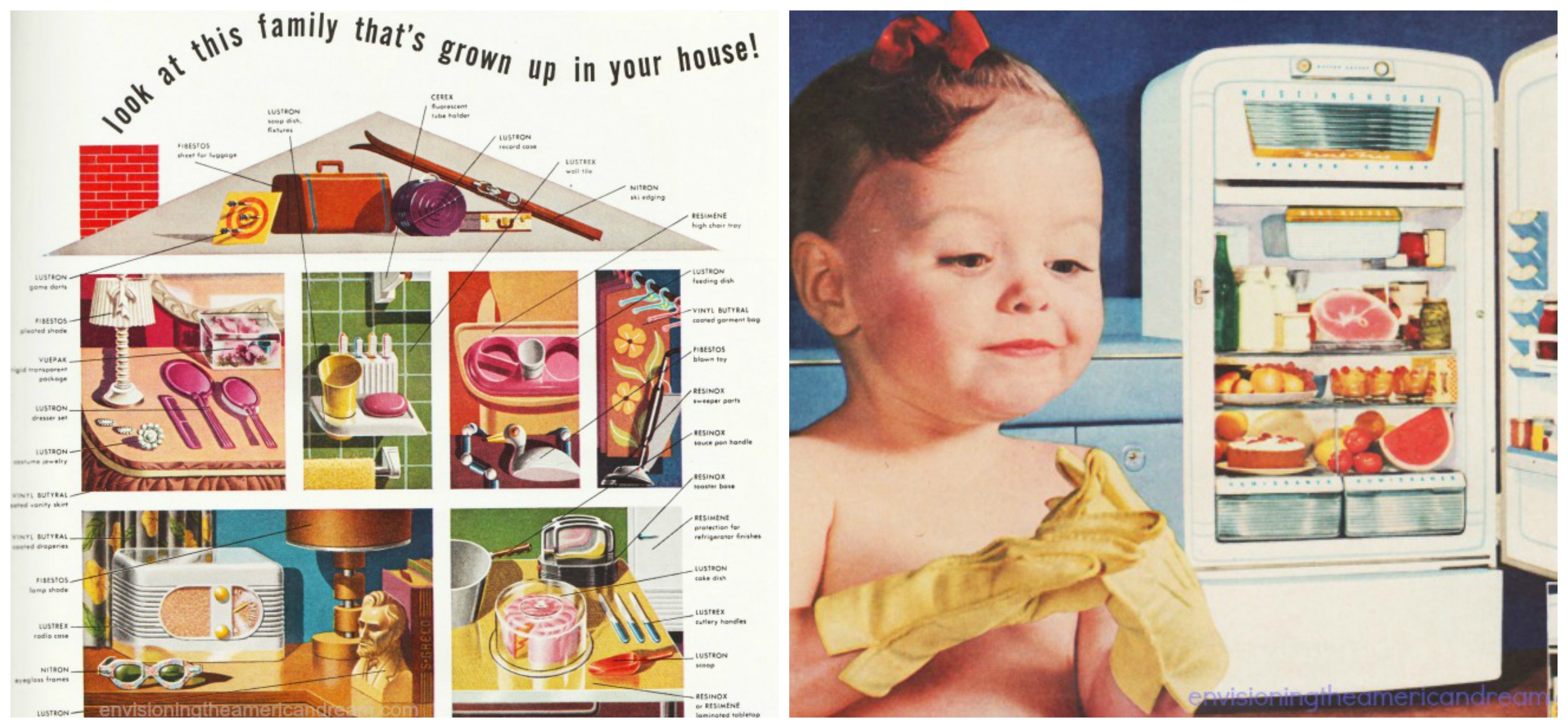 Vintage Advertising Envisioning The American Dream
