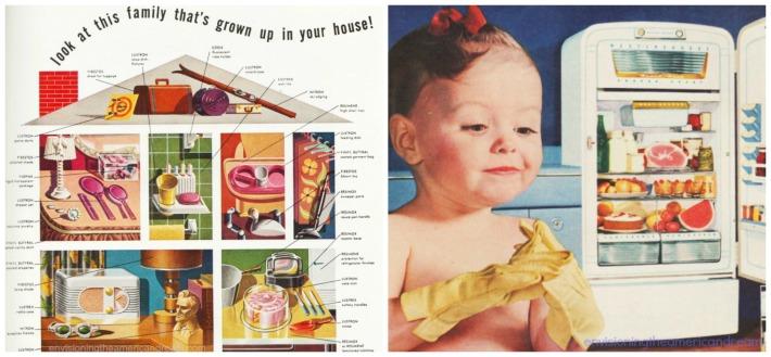 vintage ads plastics baby refrigerator