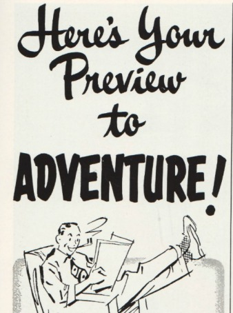 Here's Your preview to Adventure  illustration type 1953