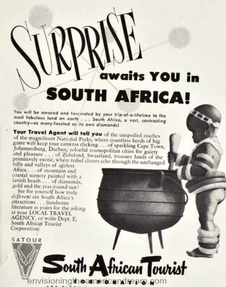 South Africa Tourism Ad 1953