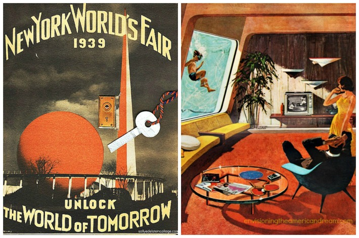 1939 Worlds Fair World of Tomorrow and TV in 1962
