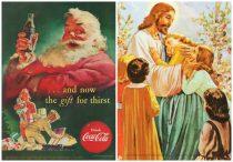 Xmas Santa Jesus White