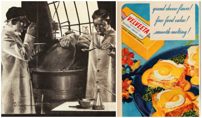 food velveeta 1918