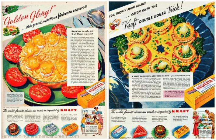 Vintage Velveeta advertisements