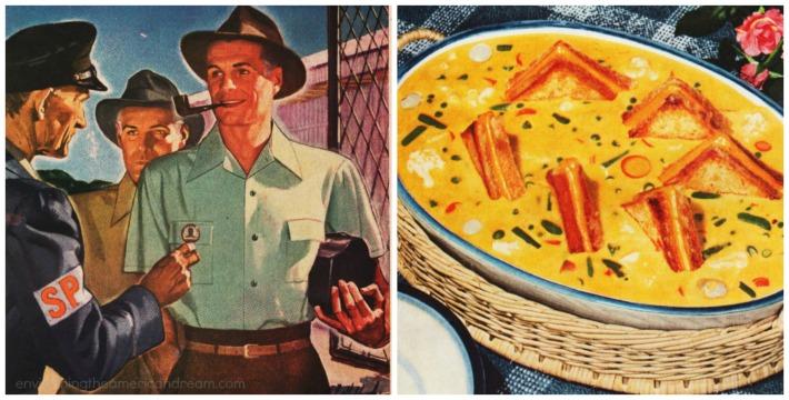 Food Velveeta WWII Defense Plant