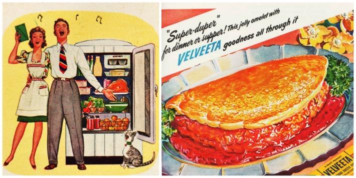vintage ads food WWII