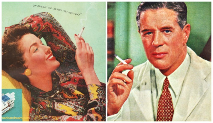 Vintage Camel Cigarette Ads woman smoking cigarette dr smoking cigarette