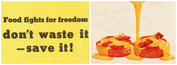 WWII Food Fights For Freedom Velveeta don't waste it save it