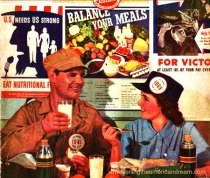 WWII food Nutrition war plant
