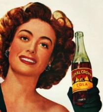 Joan Crawford vintage ad RC Cola