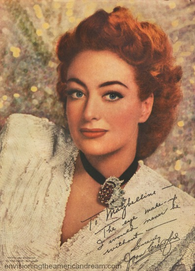 celebrity Joan Crawford