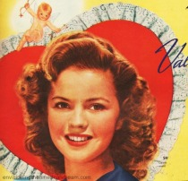 Shirley Temple Vintage ad Lane Hope Chest