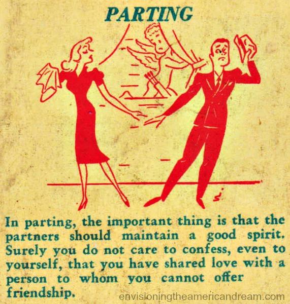 vintage illustration cartoon sex manual 1940s