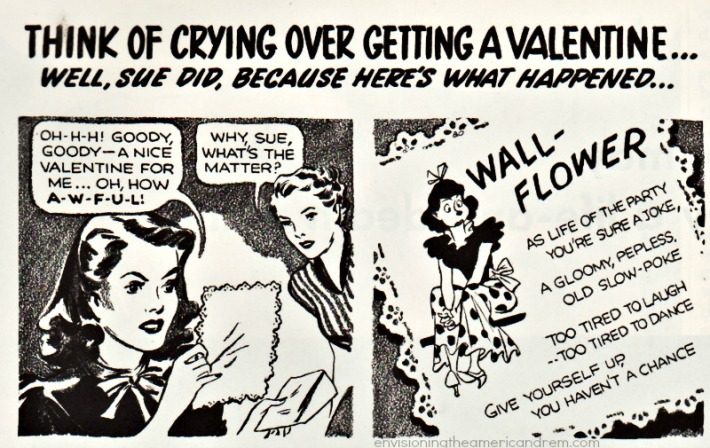 Valentines Day cartoon 1940