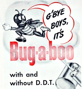 Vintage ad Bugaboo Insect Spray 1946