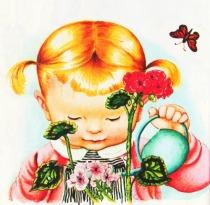 """We Help Daddy"" Little Golden Books 1962"