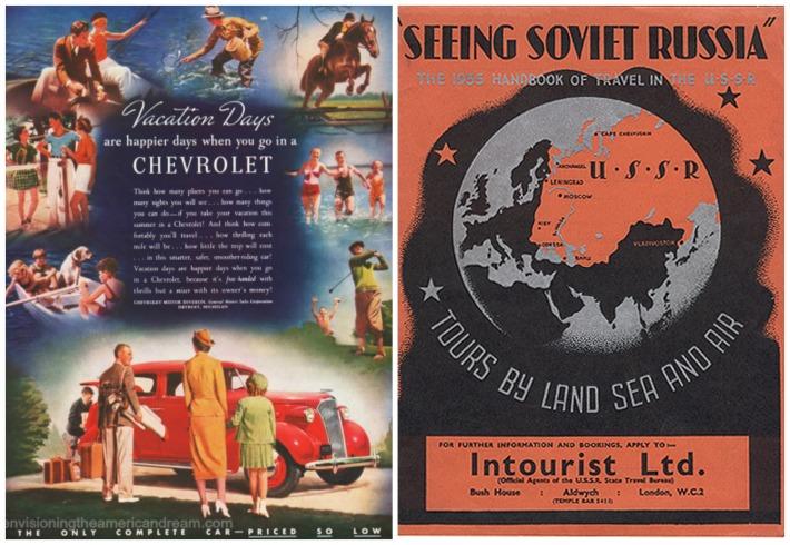 Travel Soviet Russia Intourist