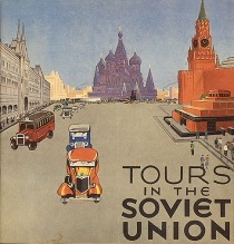 vintage travel poster Soviet Union