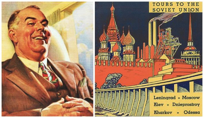 Travel Tours Soviet Union Americans