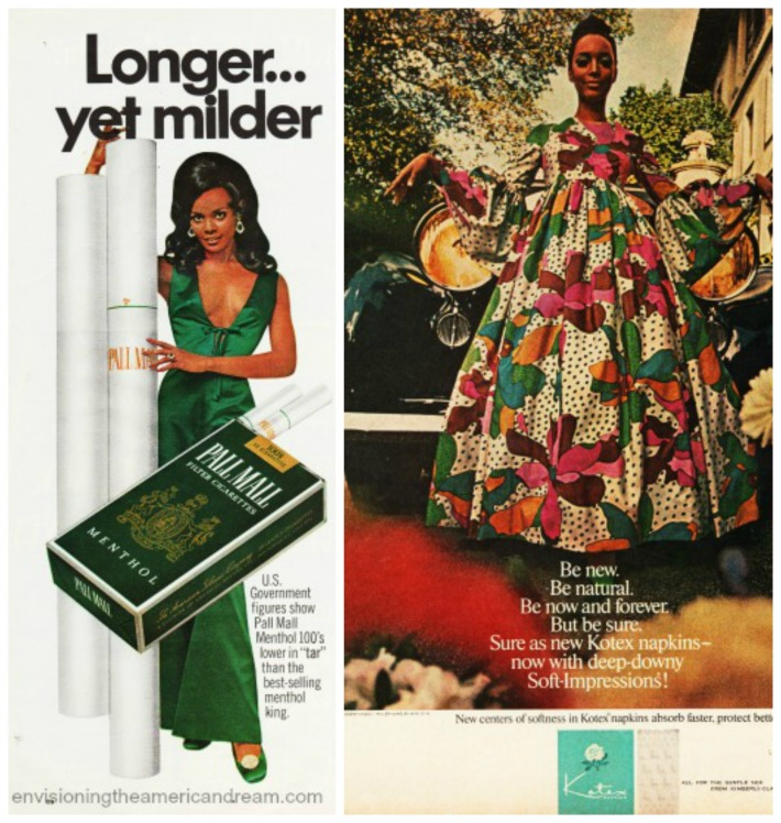 vintage 1969 African Americans Ads