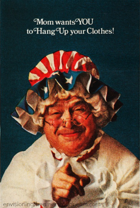 image of woman dressed as Betsy Ross