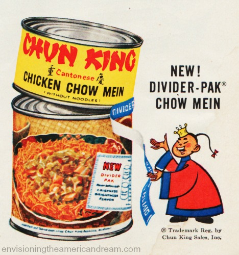 vintage illustration chun king divider pack
