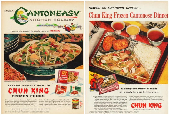 Food Chun King Frozen Food vintage ads